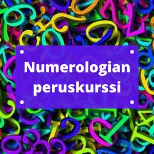 Numerologian peruskurssi tuotekuva